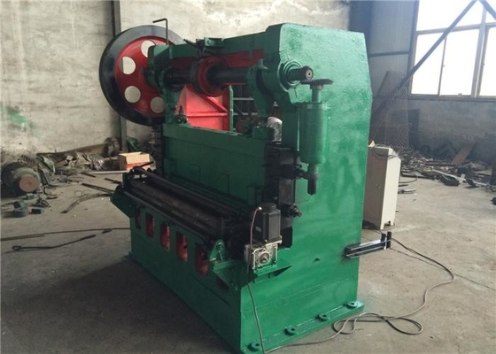 Green Expanded Mesh Making Machine 220 / 380 Voltage 52 / Min Working Speed