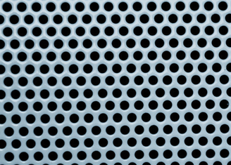 1.2m Mesh Width Small Hole Aluminum Sheet , Light Perforated Aluminum Panel