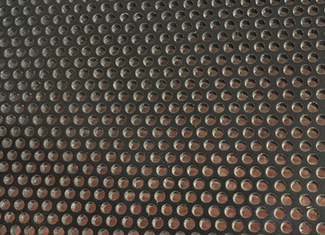 Rond Hole Perforated Metal Sheet , 1.8mm Diameter Perforated Aluminum Screen